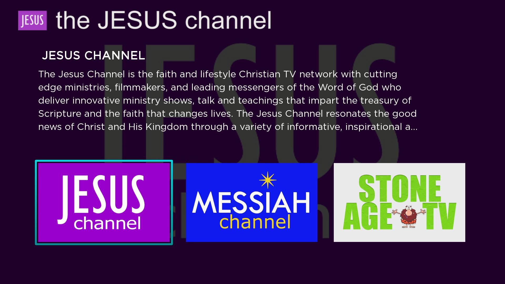 The Jesus Channel Screenshot 001