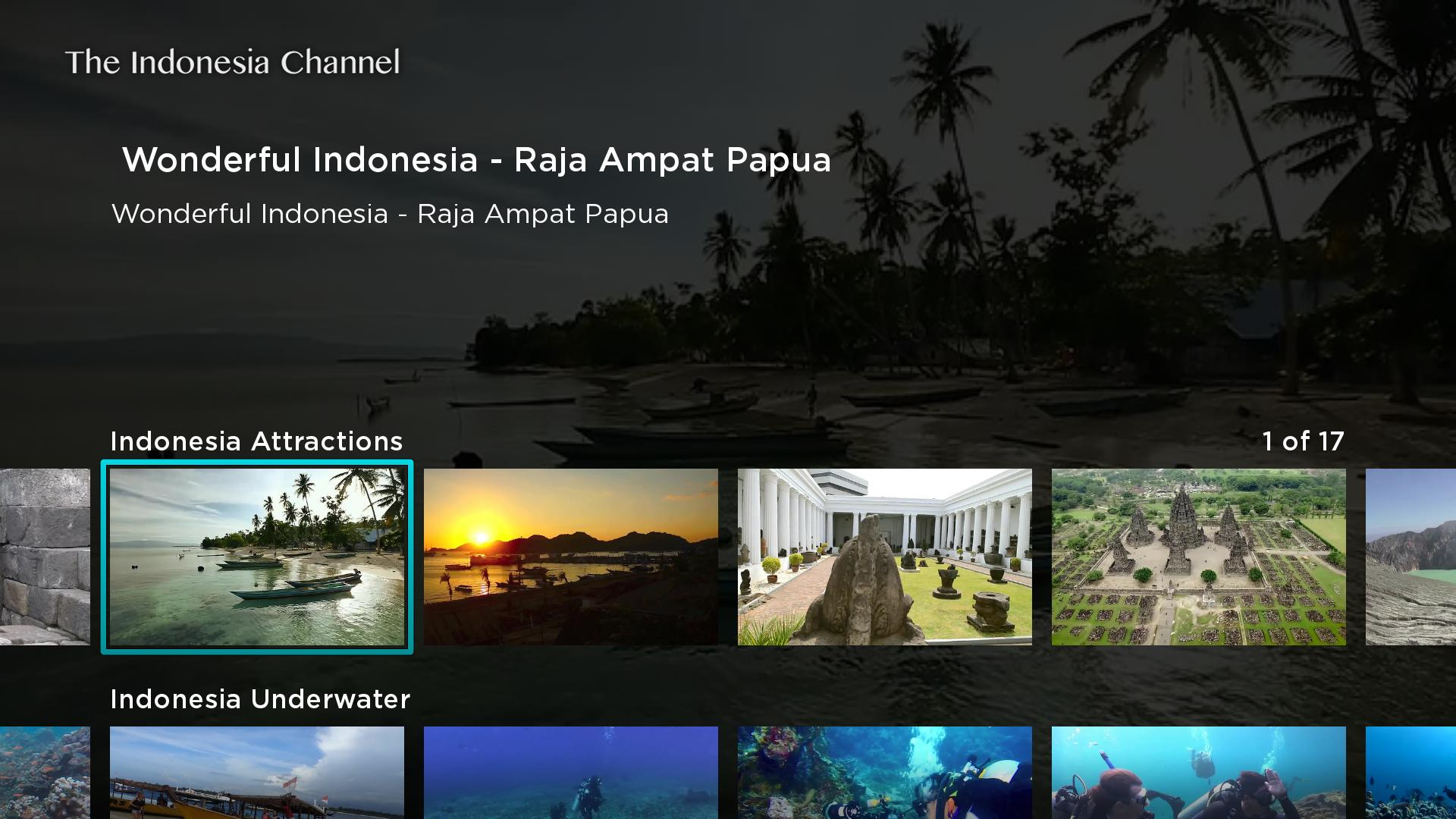 The Indonesia Channel Screenshot 001