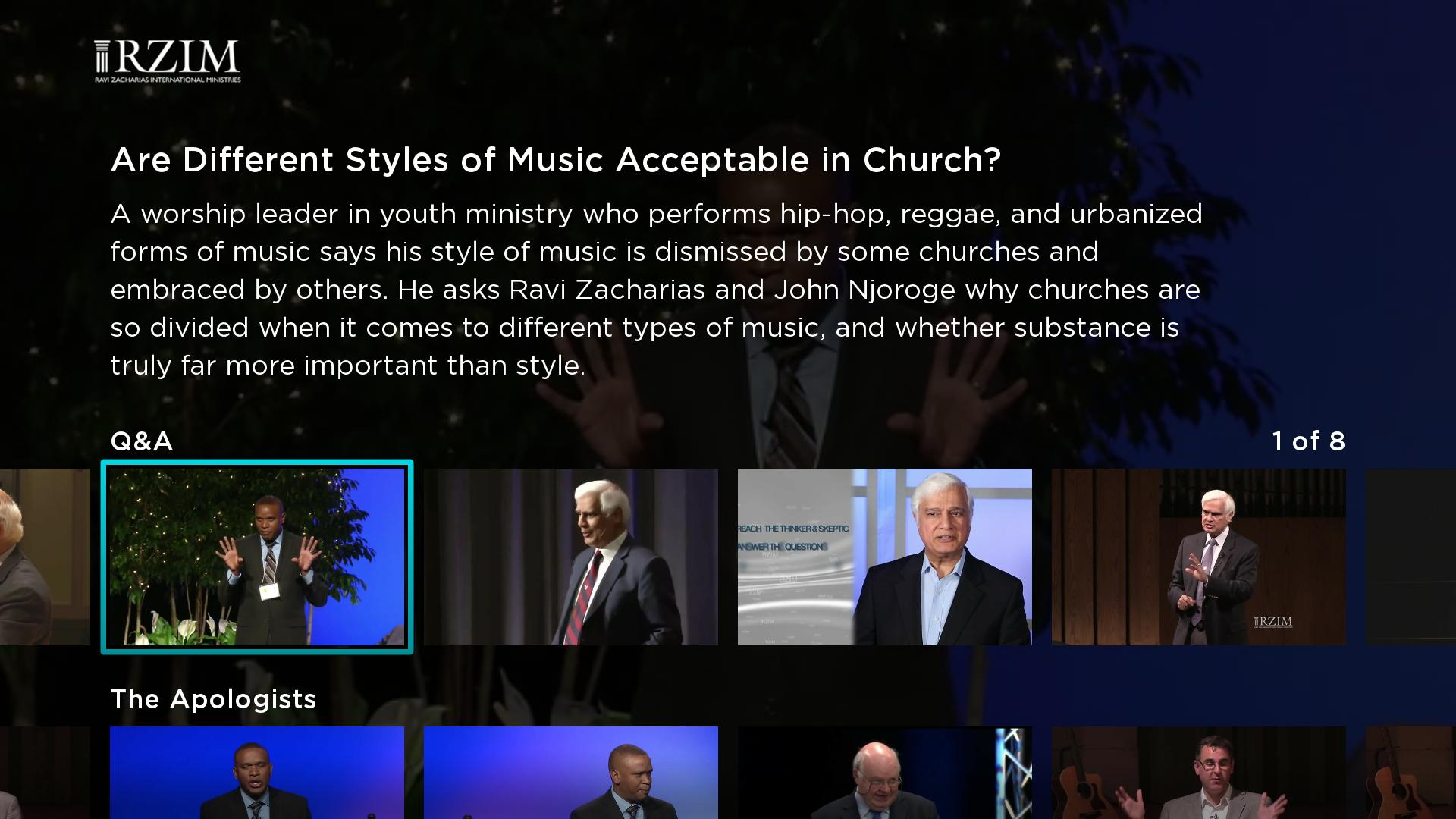 Zacharias Institute Screenshot 002