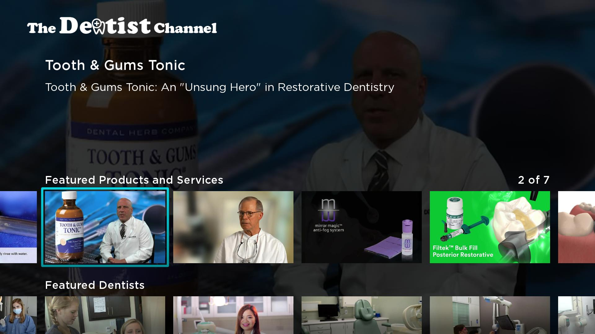 The Dentist Channel Screenshot 001