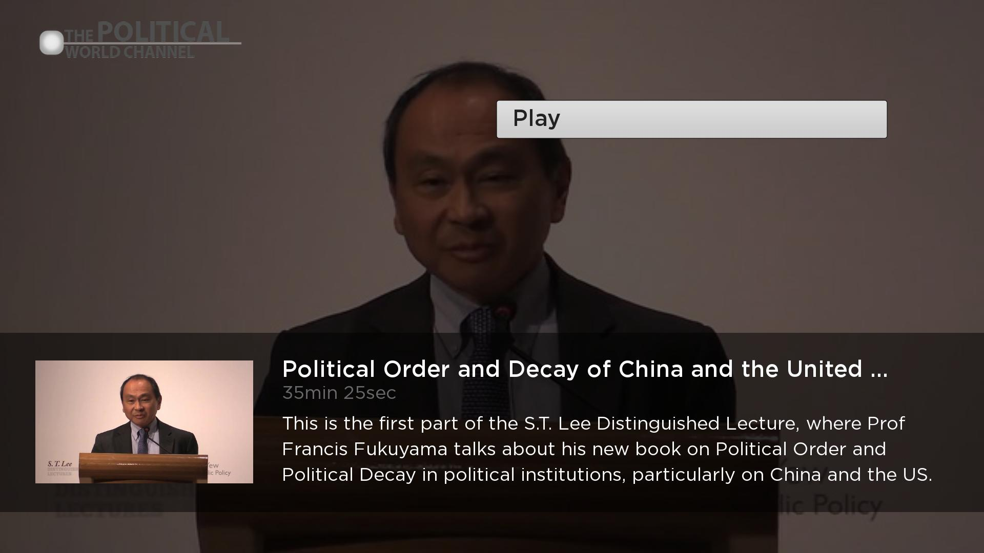 The Political World Channel Screenshot 002