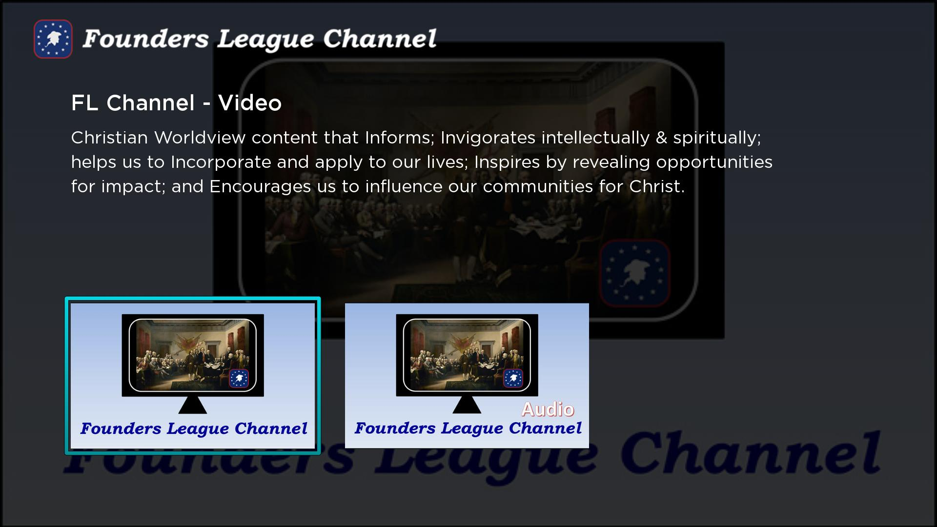 Founders League Channel Screenshot 001