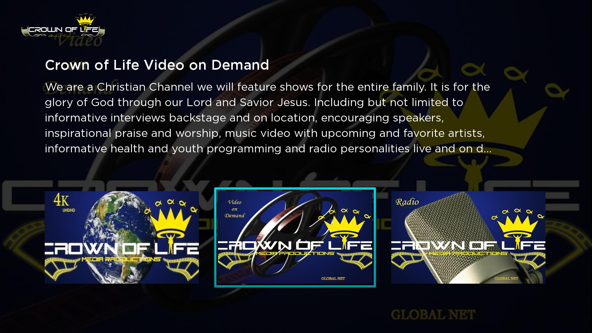 Crown of Life Global TV Screenshot 001