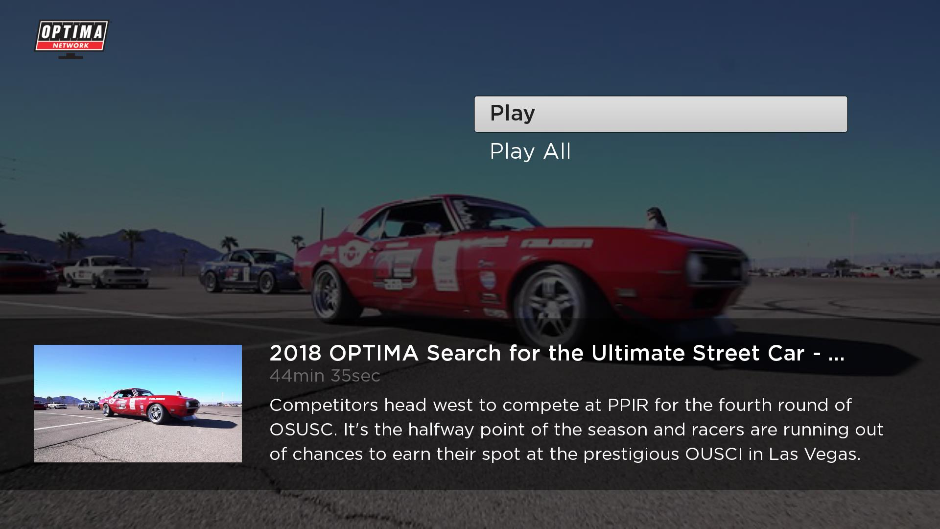 OPTIMA Network Screenshot 003