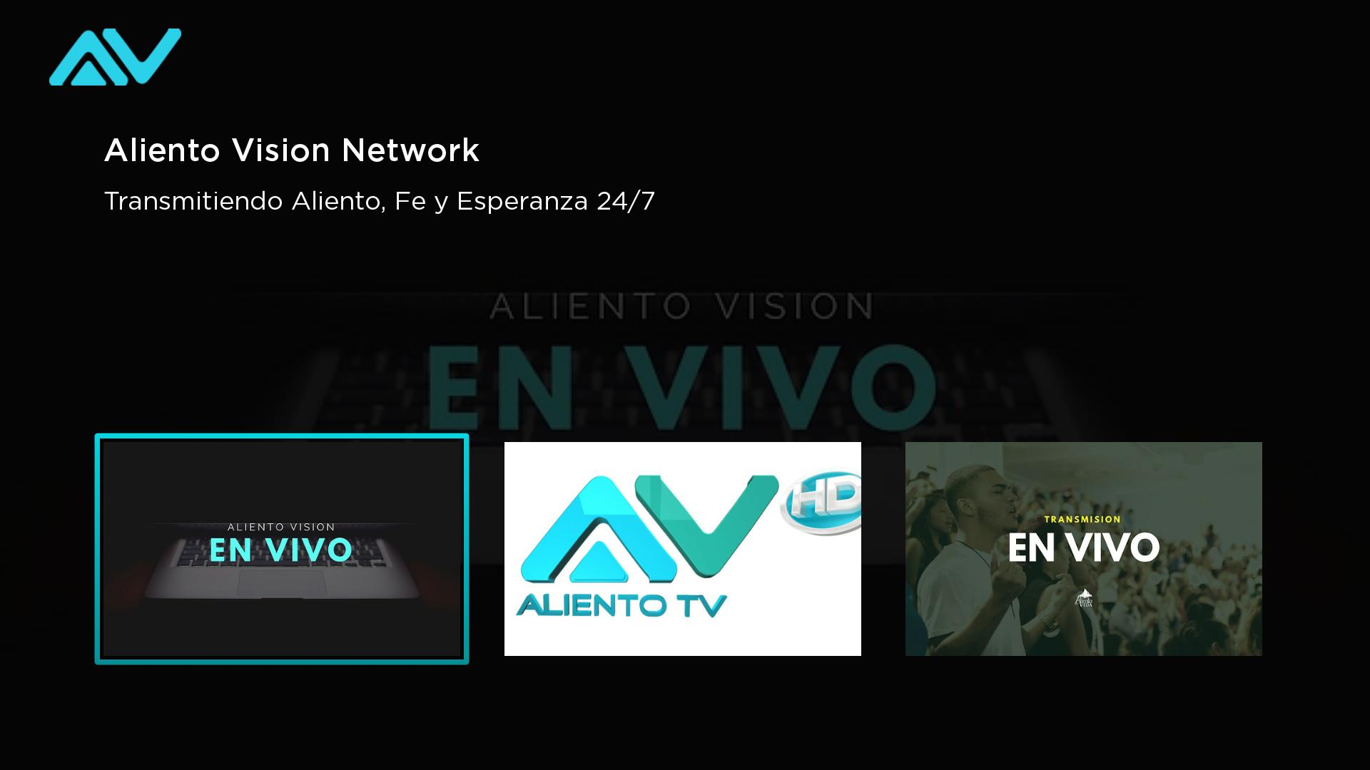 Aliento Vision Network Screenshot 001