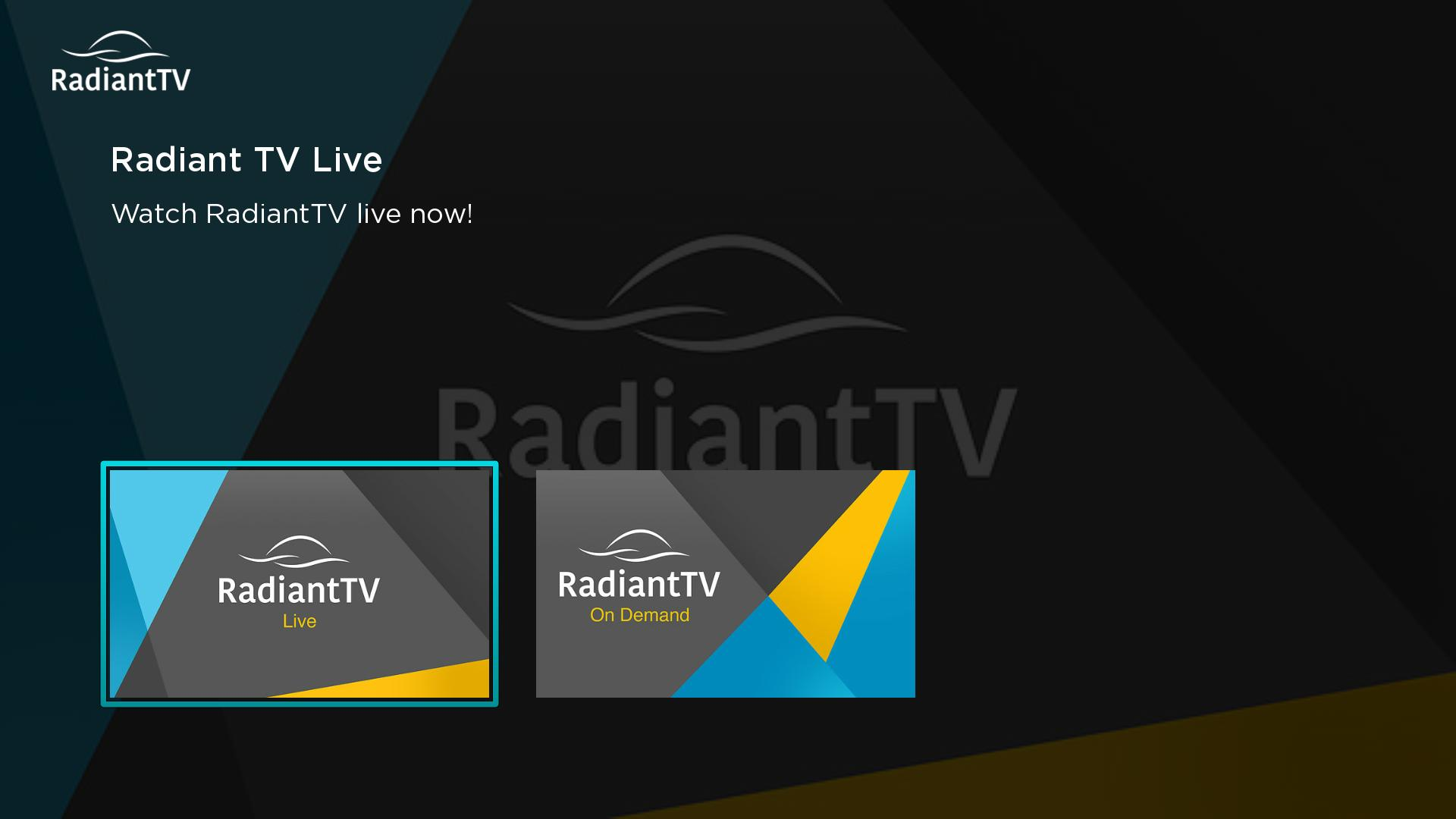 Radiant TV Screenshot 001