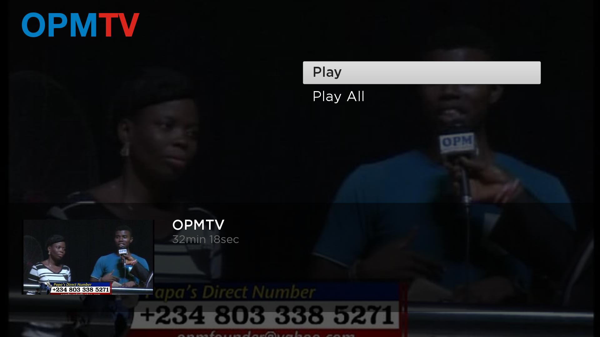 OPMTV Screenshot 003