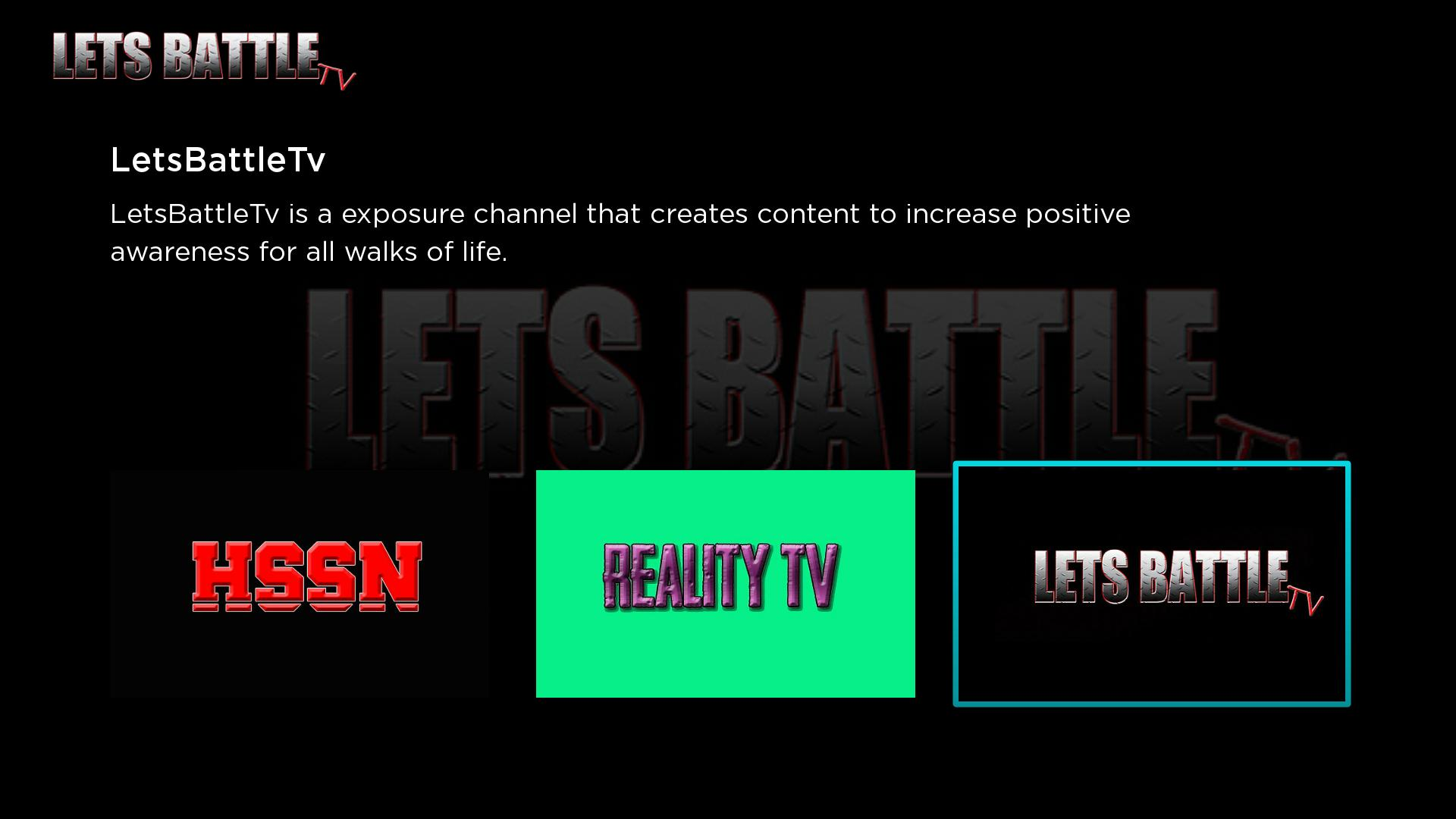 LetsBattleTv Screenshot 001