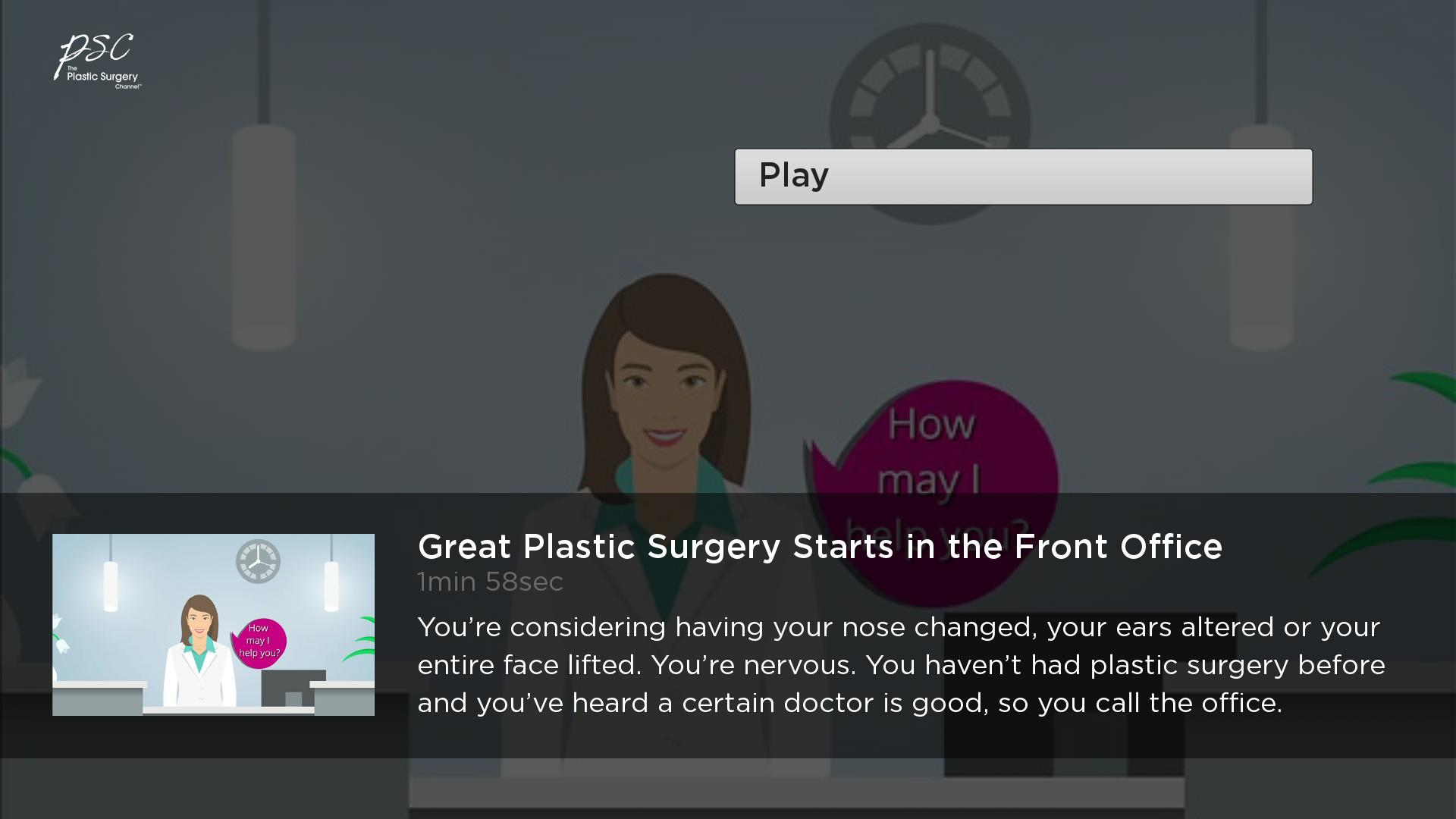 The Plastic Surgery Channel Screenshot 002