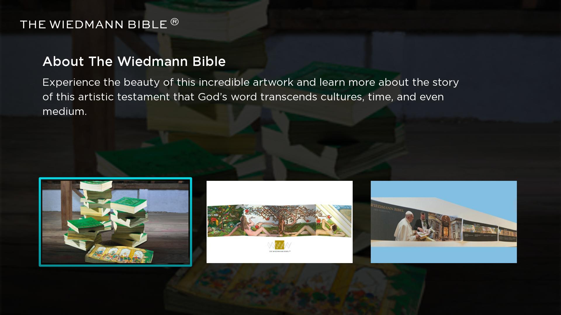 The Wiedmann Bible TV Screenshot 001