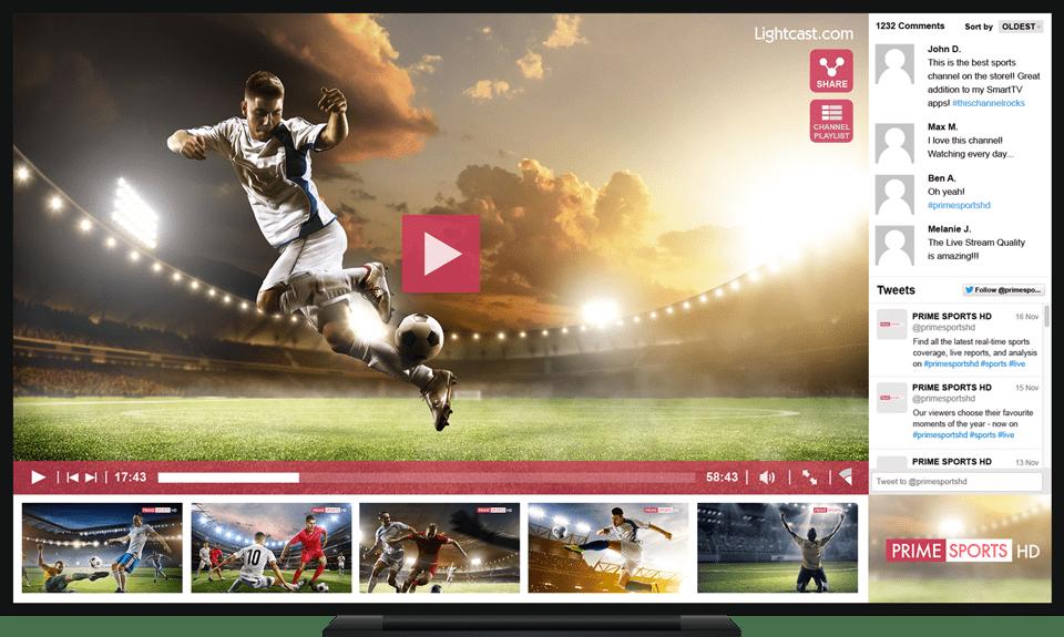 Smart TV App Development | Lightcast com